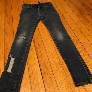 Youth skinny stretch jeans